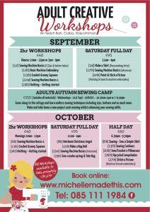 MMT Autumn Workshops Sept_Oct 2