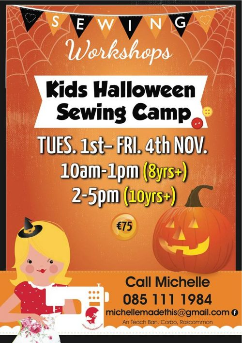 Halloween Camps Poster 2016
