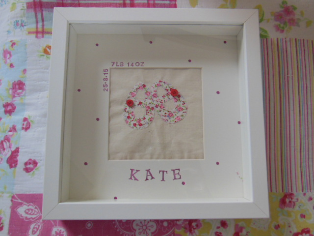Personalised Baby Frame – Michelle Made This
