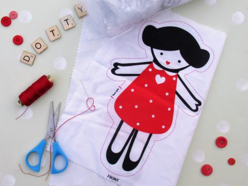 Dotty Doll Sewing Kit