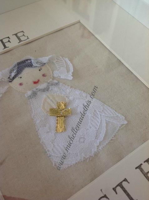 Communion Frame Girl