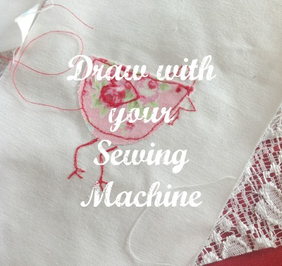 Draw with Sewing Machine