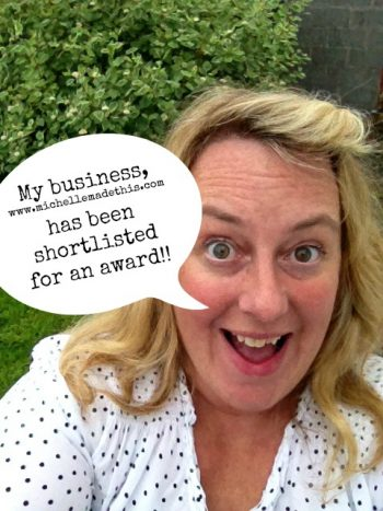 SICAP Enterprise Awards – I'm shortlisted!