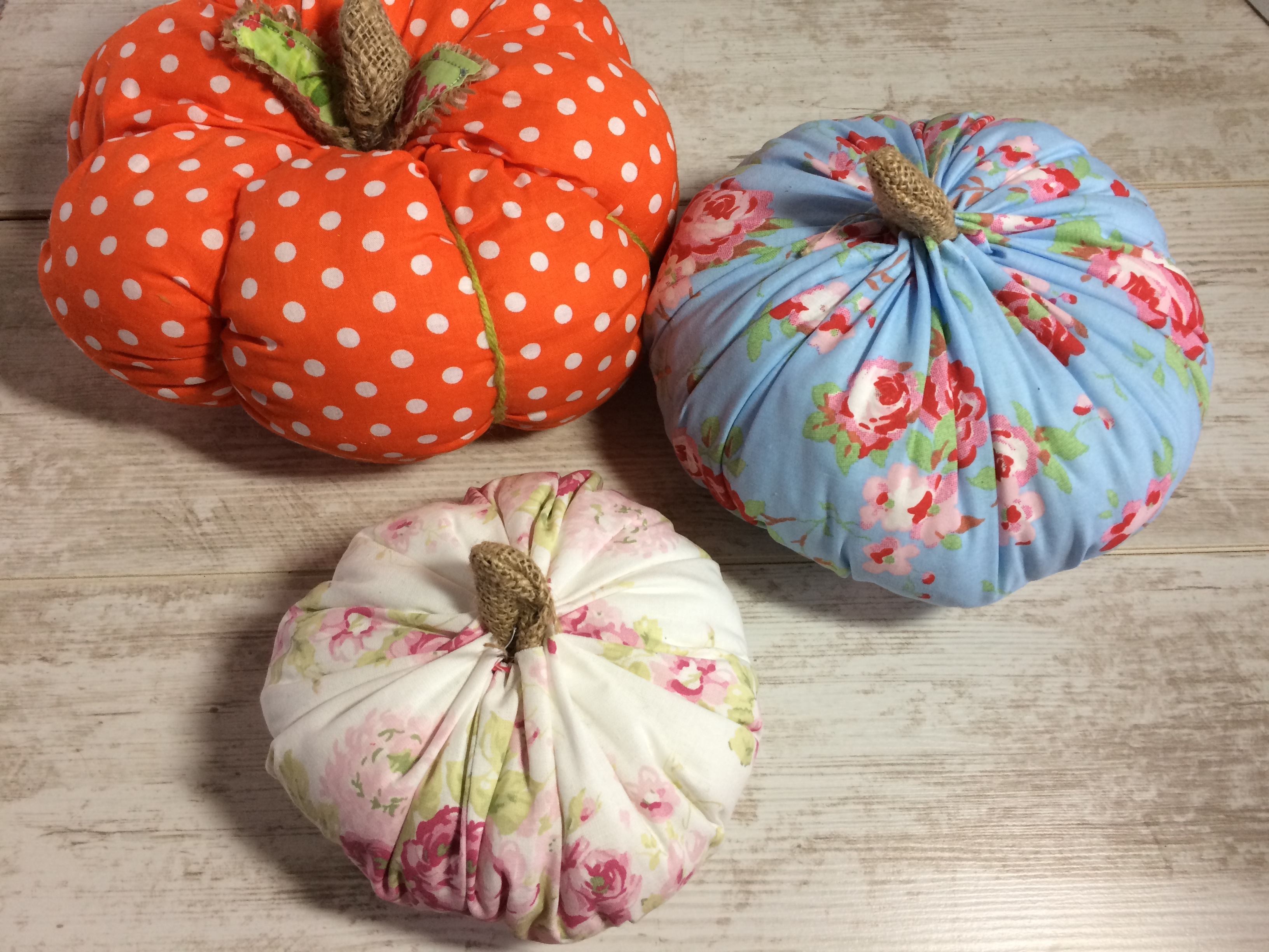 DIY Fabric Pumpkin Tutorial