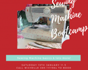 Sewing Machine Bootcamp