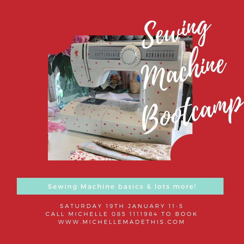 Sewing Machine Bootcamp
