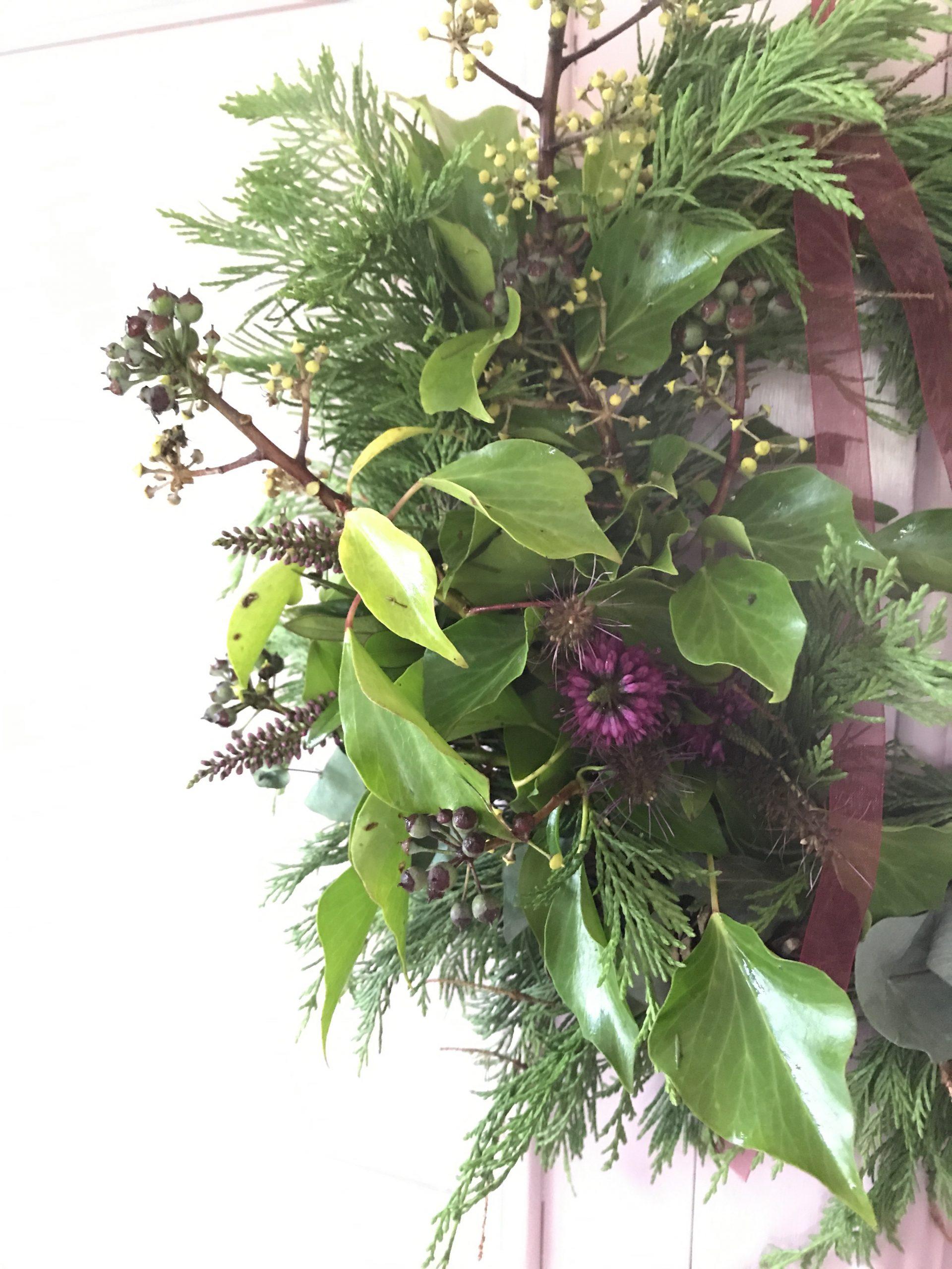 3 DIY Fresh Foliage Wreaths