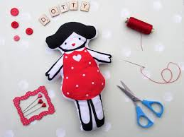 Limited Edition Dotty Doll Panel
